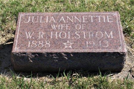 HOLSTROM, JULIA ANNETTIE - Hamilton County, Iowa | JULIA ANNETTIE HOLSTROM