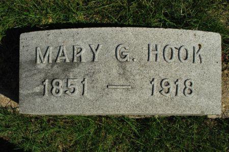 HOOK, MARY G. - Hamilton County, Iowa | MARY G. HOOK
