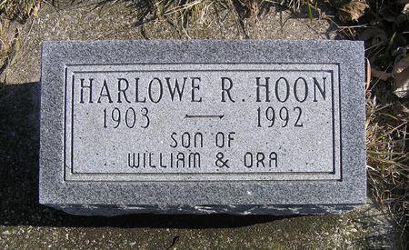 HOON, HARLOWE R. - Hamilton County, Iowa | HARLOWE R. HOON