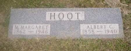 HOOT, M. MARGARET - Hamilton County, Iowa   M. MARGARET HOOT