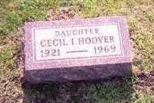 HOOVER, CECIL I. - Hamilton County, Iowa | CECIL I. HOOVER