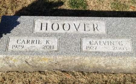 HOOVER, CALVIN G. - Hamilton County, Iowa | CALVIN G. HOOVER