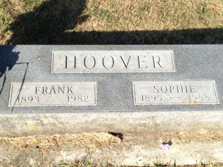 HOOVER, FRANK - Hamilton County, Iowa | FRANK HOOVER