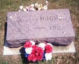 HOOVER, MARTIN - Hamilton County, Iowa   MARTIN HOOVER