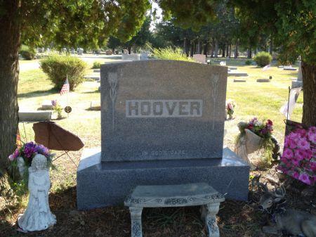 HOOVER, FAMILY STONE - Hamilton County, Iowa | FAMILY STONE HOOVER