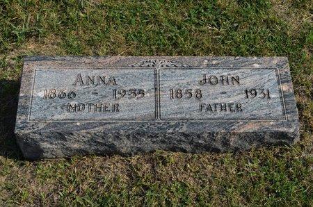 WIEM HUBNER, ANNA - Hamilton County, Iowa | ANNA WIEM HUBNER