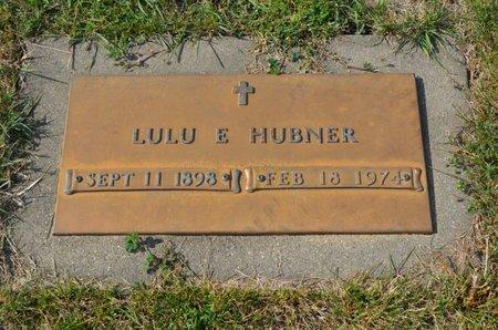 HUBNER, LULU E. - Hamilton County, Iowa | LULU E. HUBNER