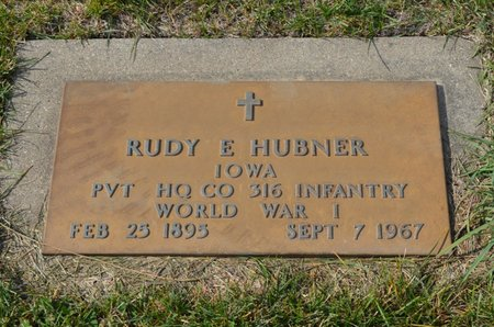 HUBNER, RUDY E. - Hamilton County, Iowa | RUDY E. HUBNER
