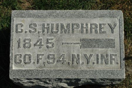 HUMPHREY, CHARLES SIDNEY - Hamilton County, Iowa   CHARLES SIDNEY HUMPHREY
