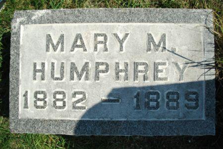 HUMPHREY, MARY M. - Hamilton County, Iowa   MARY M. HUMPHREY