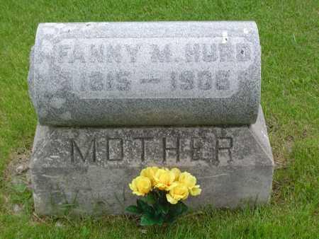 DEKAY HURD, FANNY M. - Hamilton County, Iowa   FANNY M. DEKAY HURD