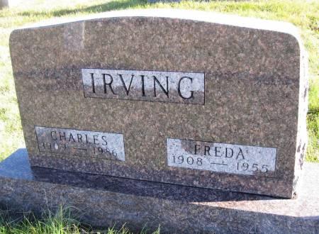 IRVING, CHARLES - Hamilton County, Iowa | CHARLES IRVING