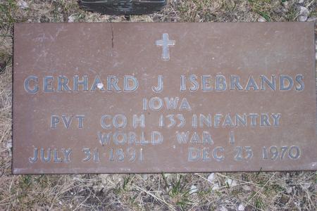 ISEBRANDS, GERHARD S. - Hamilton County, Iowa | GERHARD S. ISEBRANDS