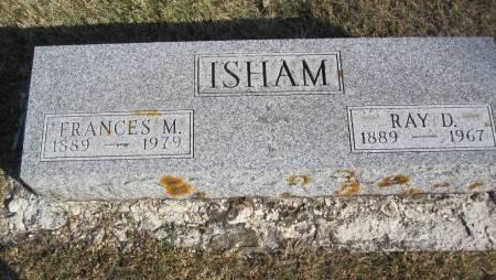 ISHAM, RAY D. - Hamilton County, Iowa | RAY D. ISHAM