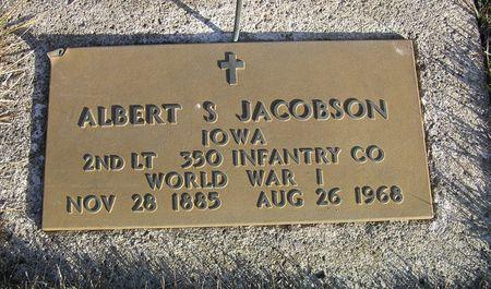JACOBSON, ALBERT S. - Hamilton County, Iowa   ALBERT S. JACOBSON