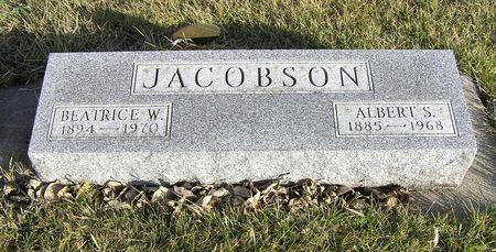 JACOBSON, BEATRICE W. - Hamilton County, Iowa | BEATRICE W. JACOBSON