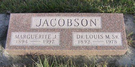 JACOBSON, MARGUERITE J. - Hamilton County, Iowa   MARGUERITE J. JACOBSON