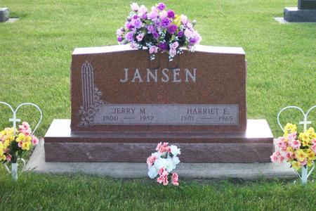 JANSEN, JERRY M. - Hamilton County, Iowa | JERRY M. JANSEN