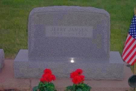 JANSEN, JERRY - Hamilton County, Iowa | JERRY JANSEN