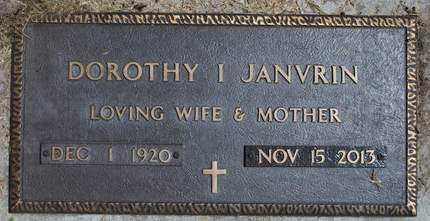 JANVRIN, DOROTHY I. - Hamilton County, Iowa | DOROTHY I. JANVRIN