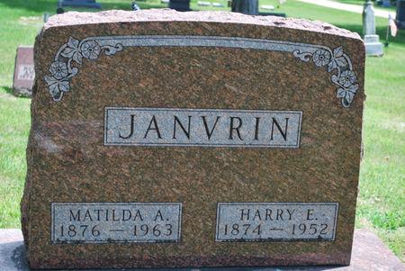 JANVRIN, MATILDA A. - Hamilton County, Iowa | MATILDA A. JANVRIN