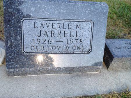 JARRELL, LAVERLE M. - Hamilton County, Iowa   LAVERLE M. JARRELL