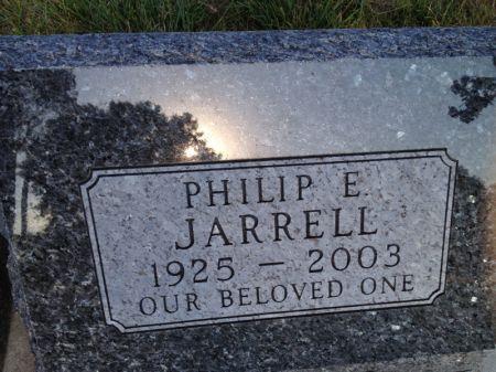 JARRELL, PHILIP E. - Hamilton County, Iowa   PHILIP E. JARRELL