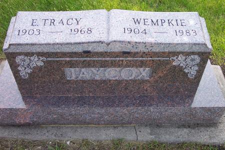 JAYCOX, E. TRACY - Hamilton County, Iowa | E. TRACY JAYCOX