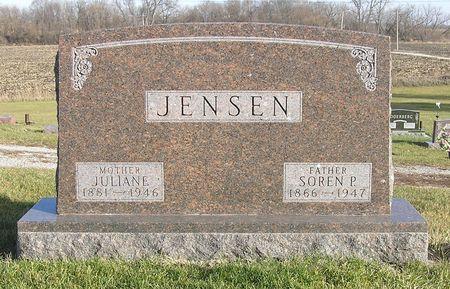 JENSEN, SOREN P. - Hamilton County, Iowa   SOREN P. JENSEN