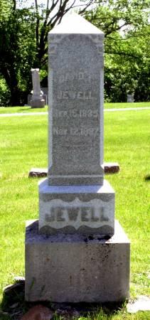 JEWELL, DAVID T. - Hamilton County, Iowa | DAVID T. JEWELL