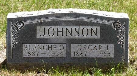 JOHNSON, OSCAR I. - Hamilton County, Iowa   OSCAR I. JOHNSON