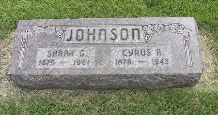 JOHNSON, CYRUS A. - Hamilton County, Iowa   CYRUS A. JOHNSON