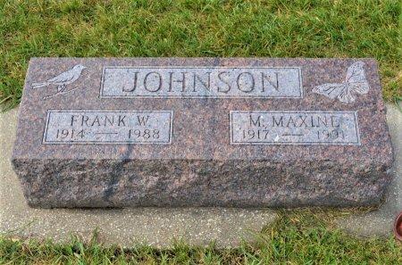 MILLER JOHNSON, M. MAXINE - Hamilton County, Iowa | M. MAXINE MILLER JOHNSON