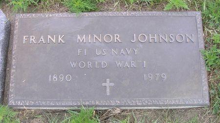 JOHNSON, FRANK MINOR - Hamilton County, Iowa | FRANK MINOR JOHNSON