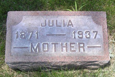 BERKNESS JOHNSON, JULIA - Hamilton County, Iowa   JULIA BERKNESS JOHNSON