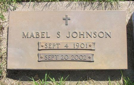 JOHNSON, MABEL S. - Hamilton County, Iowa   MABEL S. JOHNSON