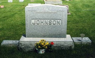 JOHNSON, FAMILY STONE - Hamilton County, Iowa | FAMILY STONE JOHNSON