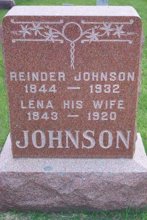 JOHNSON, REINDER - Hamilton County, Iowa | REINDER JOHNSON