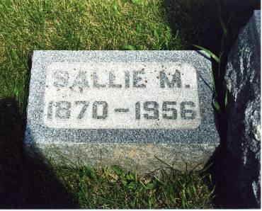 JOHNSON, SALLIE M. - Hamilton County, Iowa | SALLIE M. JOHNSON
