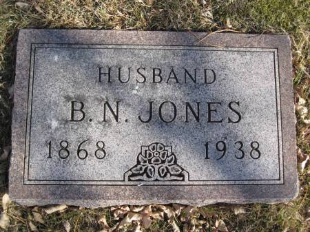 JONES, B. N. - Hamilton County, Iowa | B. N. JONES