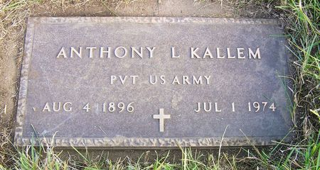 KALLEM, ANTHONY L. - Hamilton County, Iowa | ANTHONY L. KALLEM