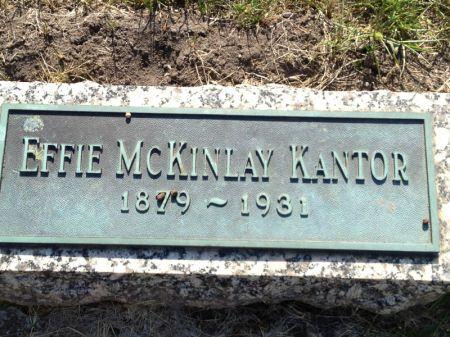 MCKINLAY KANTOR, EFFIE - Hamilton County, Iowa   EFFIE MCKINLAY KANTOR