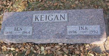 KEIGAN, BEN - Hamilton County, Iowa | BEN KEIGAN