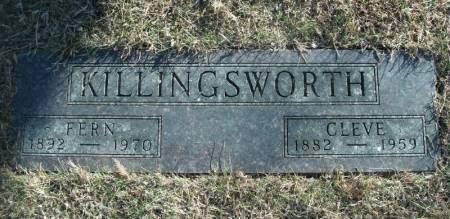 KILLINGSWORTH, HENRY CLEVELAND - Hamilton County, Iowa | HENRY CLEVELAND KILLINGSWORTH