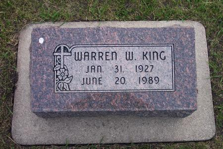 KING, WARREN W. - Hamilton County, Iowa | WARREN W. KING