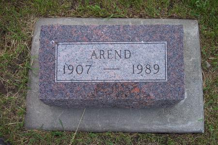 KLAVER, AREND - Hamilton County, Iowa | AREND KLAVER