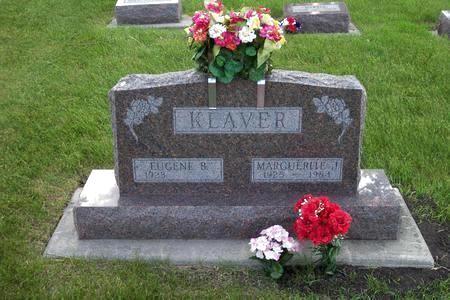 KLAVER, EUGENE B. - Hamilton County, Iowa | EUGENE B. KLAVER