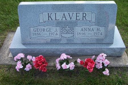 KLAVER, ANNA H. - Hamilton County, Iowa | ANNA H. KLAVER