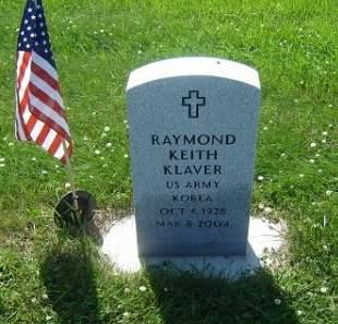 KLAVER, RAYMOND KEITH - Hamilton County, Iowa   RAYMOND KEITH KLAVER
