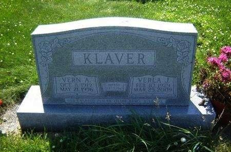 KLAVER, VERLA J. - Hamilton County, Iowa | VERLA J. KLAVER